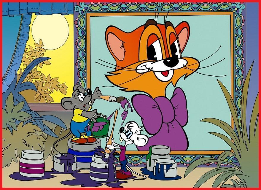Вечера анимация, картинки леопольда и мышей