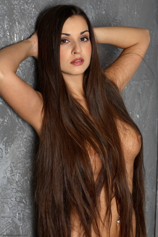 русская порнозвезда с длинными волосами - 14